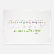 Smile With Style 5'x7'Area Rug