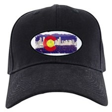 Denver Skyline Flag Baseball Hat