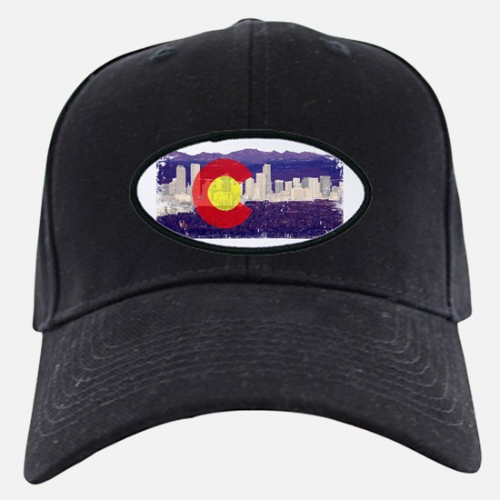 Denver Skyline Flag Baseball Hat