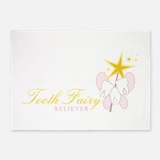 Tooth Fairy Seliever 5'x7'Area Rug