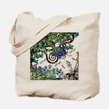 Wild Twisted Trees Tote Bag