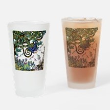 Wild Twisted Trees Drinking Glass