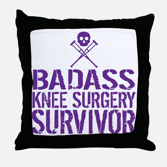 Unique Crossbones Throw Pillow