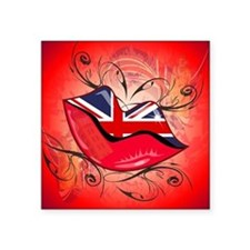 Lips, United Kingdom Sticker