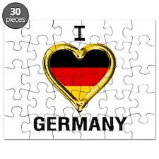 Cute Metallic gold Puzzle