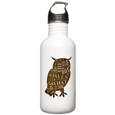 The Owls Are Not What  Water Bottle