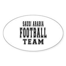 Saudi Arabia Football Team Decal