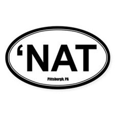 'Nat Sticker - White