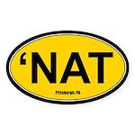 'Nat Sticker - Gold