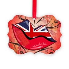 Lips, United Kingdom Ornament