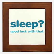 Sleepluck Ltblue Framed Tile
