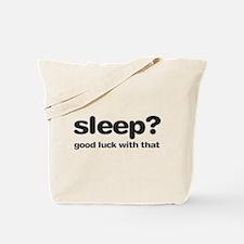 Sleepluck Black Tote Bag