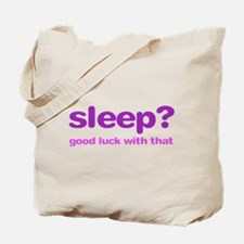 Sleepluck Purple Tote Bag