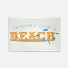 I'd rather be at the Beach Magnets
