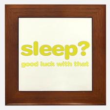 Sleepluck Yellow Framed Tile