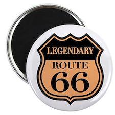 Legendary Rte. 66 Magnet