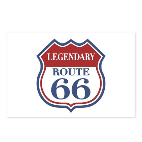 Legendary Rte. 66 Postcards (Package of 8)