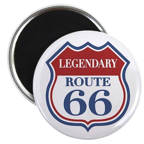 """Legendary Rte. 66 2.25"""" Magnet (100 pack)"""