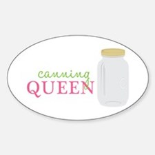 Canning Queen Decal