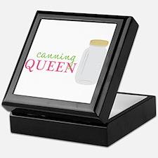 Canning Queen Keepsake Box