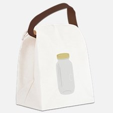 Mason Jar Canvas Lunch Bag