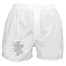 Scottish Independence Wordle Boxer Shorts