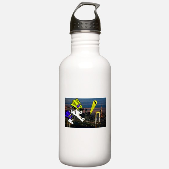 The Cat Signal Water Bottle