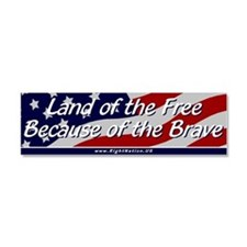 Cute Wwi american Car Magnet 10 x 3