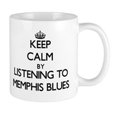 Keep calm by listening to MEMPHIS BLUES Mugs