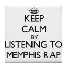Memphis radio Tile Coaster