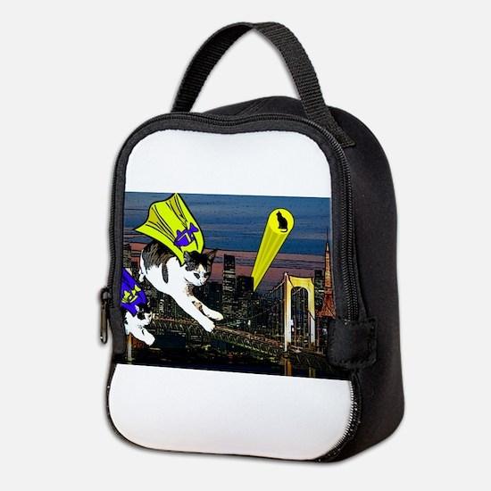 The Cat Signal Neoprene Lunch Bag