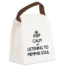 Cool Memphis radio Canvas Lunch Bag