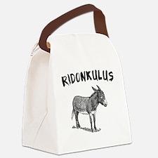 Ridonkulus Canvas Lunch Bag