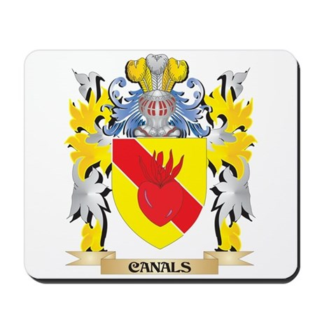 Canals Coat of Arms - Family Crest Mousepad