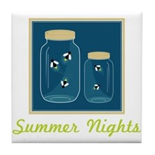 Summer Nights Tile Coaster