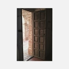 Old San Juan Capistrano Door Rectangle Magnet