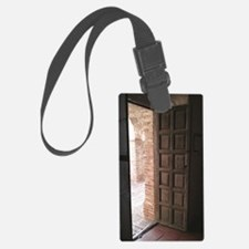 Old San Juan Capistrano Door Luggage Tag