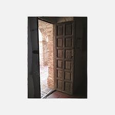 Old San Juan Capistrano Door 5'x7'Area Rug