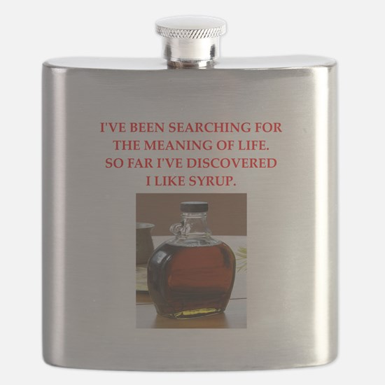 syrup Flask