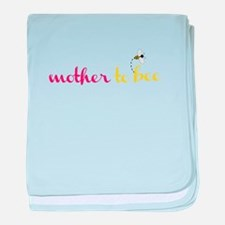 Mother To Bee baby blanket