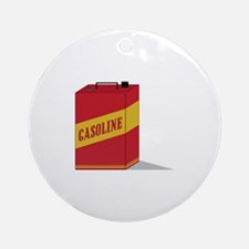 Gasoline Ornament (Round)