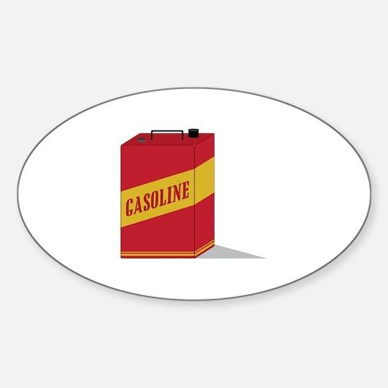 Gasoline Decal