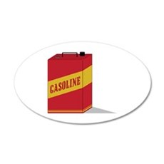 Gasoline Wall Decal