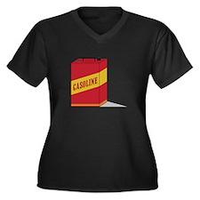 Gasoline Plus Size T-Shirt
