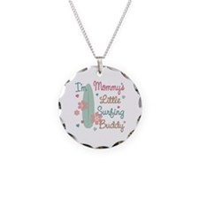 Mom's Surfing Buddy Necklace