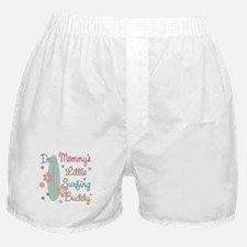 Mom's Surfing Buddy Boxer Shorts