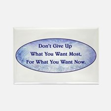 DON'T GIVE UP... Rectangle Magnet