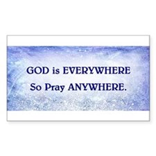 GOD IS EVERYWHERE Decal