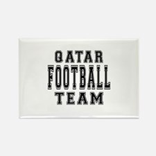 Qatar Football Team Rectangle Magnet