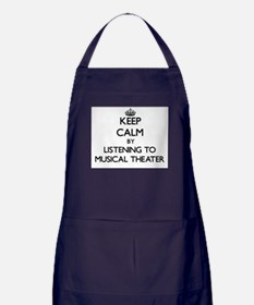 Cute Musical genres Apron (dark)